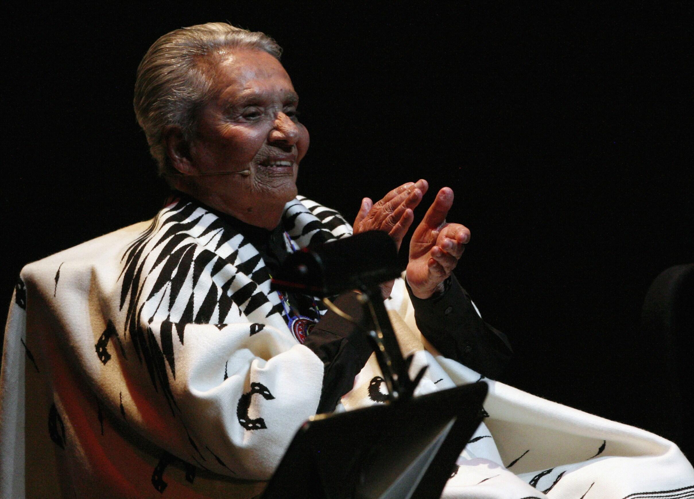 Chavela Vargas falleció a los 93 años.