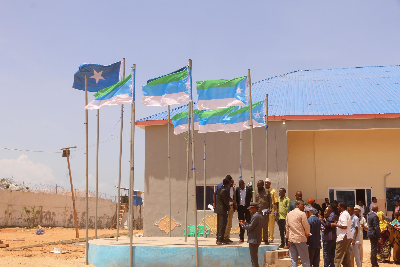 Des personnes dans la ville de Kismayo, capitale du Jubaland, Somalie, août 2019. (Image d'illustration)