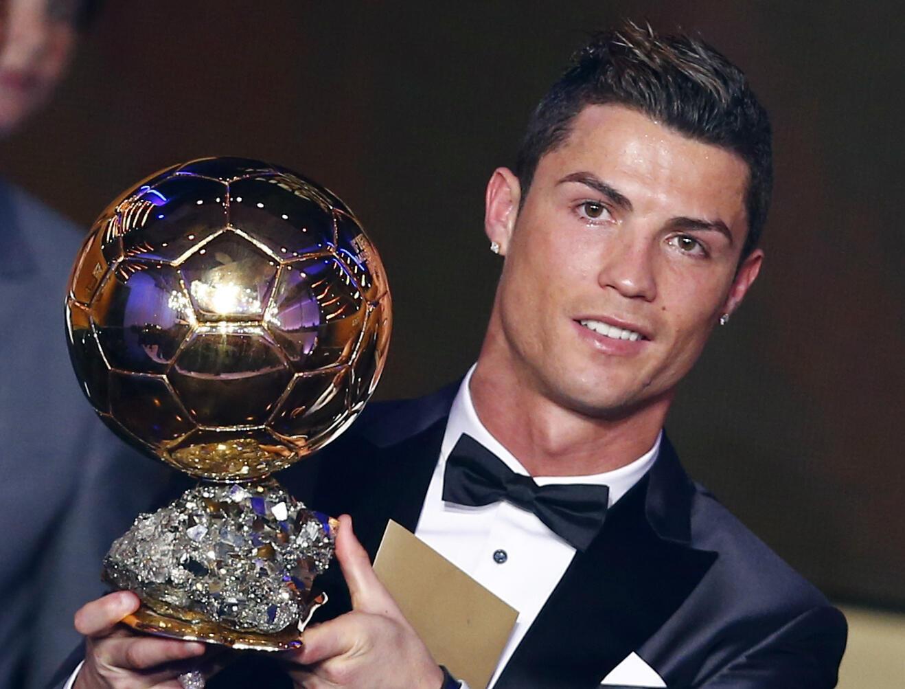 Cristiano Ronaldo, Bola de Ouro 2013.
