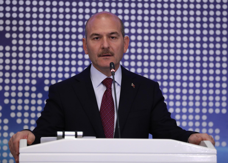 Глава МВД Турции Сулеймаан Сойлу