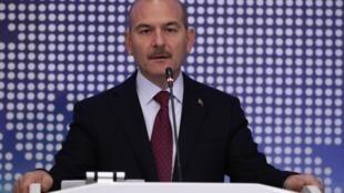 Le ministre turc de l'Intérieur Süleyman Soylu, a affirmé le 22 novembre 2019 qu'Ankara détenait un «membre important» du groupe État islamique (EI). Photo d'illustration.