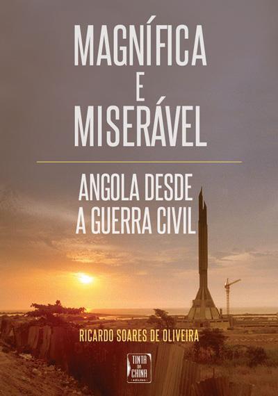 Capa do último livro de Ricardo Soares de Oliveira