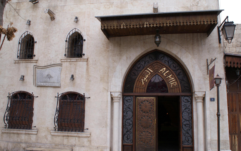 رستورانی در شهر قدیم حلب