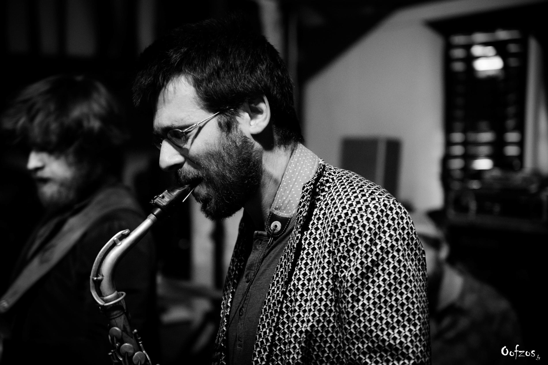Maxime Bobo, saxophoniste/compositeur avec le quartet Electric Vocuhila
