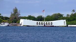 Đài tưởng niệm Trân Châu Cảng - Mỹ.