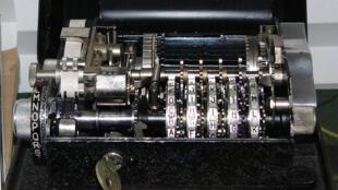یکی از دستگاه های رمزگذاری شرکت سویسی کریپتو آ.جی.