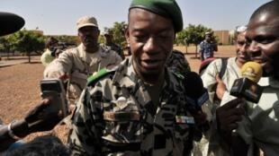 Le général Ibrahima Dahirou à Bamako, le 16 janvier 2013.