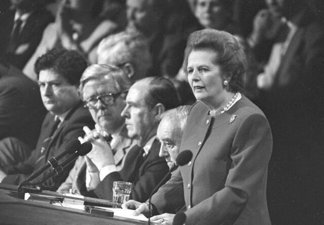 A Dama de Ferro, Margaret Thatcher, morre aos 87 anos