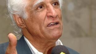 O cartunista, chargista e pintor, Ziraldo Alves Pinto.