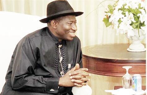 Le président du Nigéria Goodluck Jonathan.