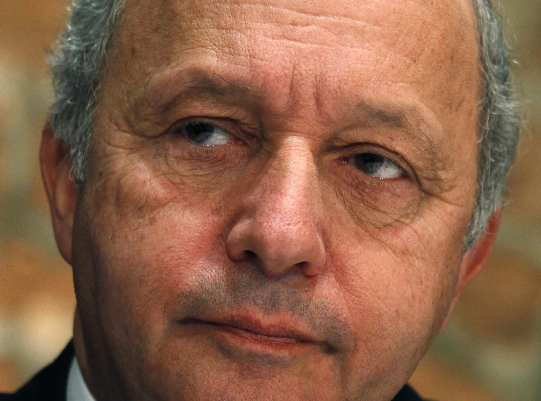 Laurent Fabius, le ministre français des Affaires étrangères.