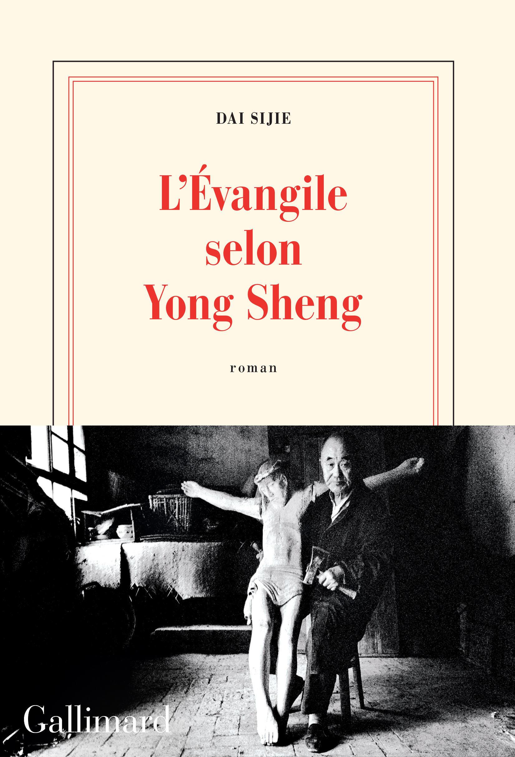 Couverture du nouveau roman de Dai Sijie