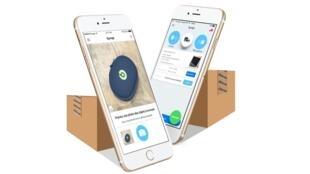 L'application mobile Sympl permet d'envoyer des colis plus simplement.