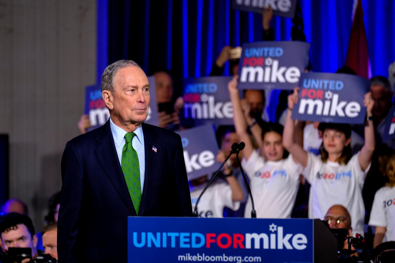 Michael Bloomberg, le magnat des médias, ex-maire de New York, et candidat démocrate.