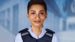 Ella, la policière virtuelle.