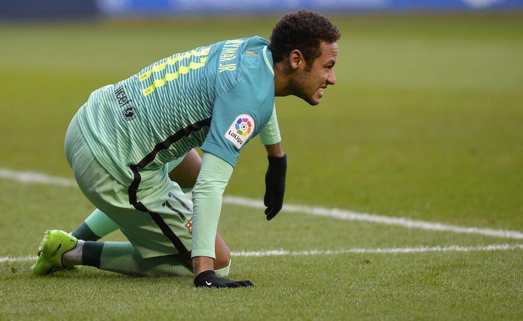 Mshambuliaji wa FC Barcelona, Neymar, ambae anakabiliwa na mashtaka ya rushwa nchini Uhispania