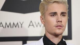 Le chanteur Justin Bieber.