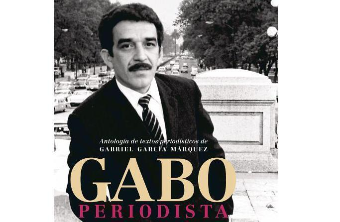 Detalle de la tapa del libro 'Gabo periodista'.