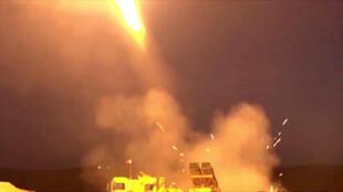 土耳其发射火箭弹 2019年10月9日