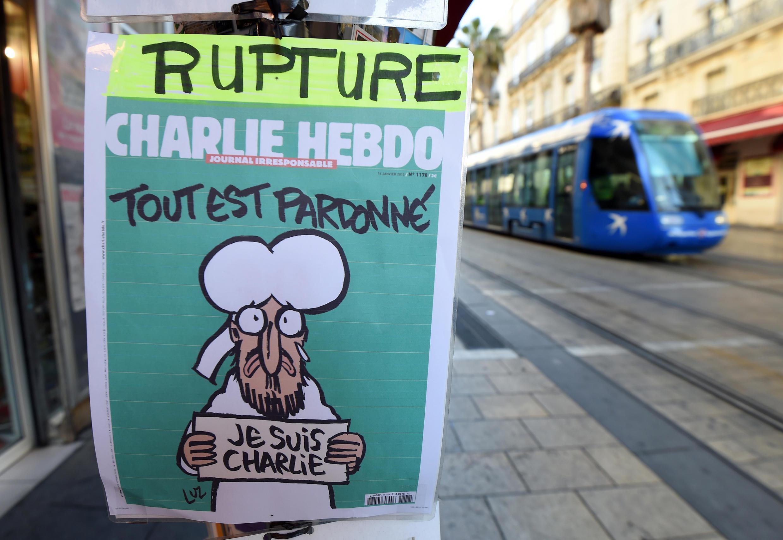 Charlie Hebdo a été très vite épuisé en kiosque, malgré un premier tirage de 3 millions d'exemplaires.