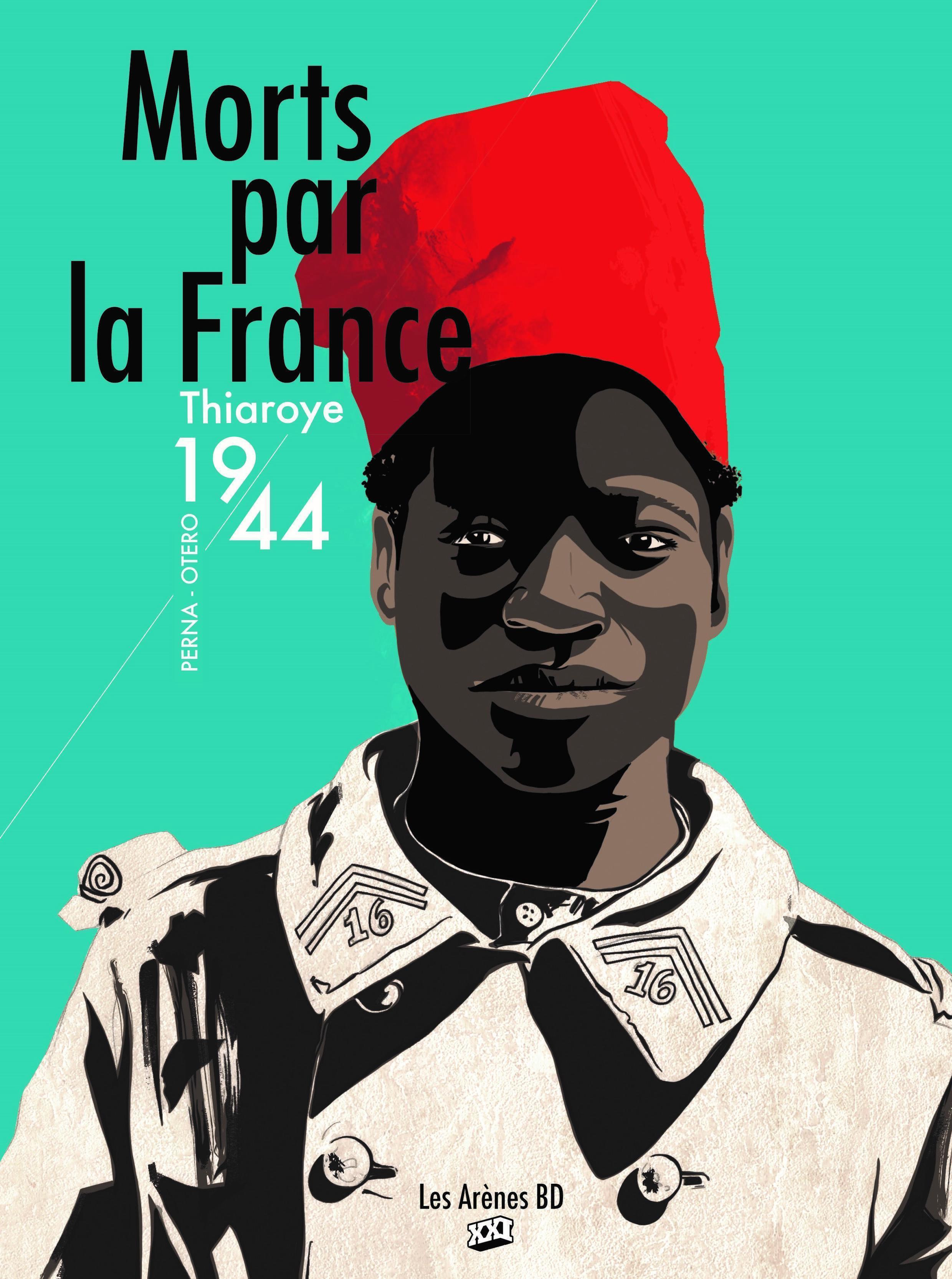 Couverture de la bande dessinée «Morts par la France».