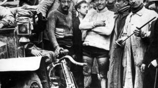 Maurice Garin, vencedor del primer Tour de Francia en 1903.