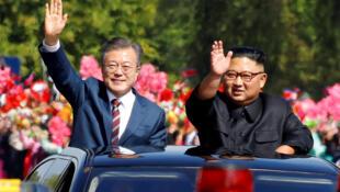 A imprensa francesa destaca o encontro entre os dirigentes das Coreias do Sul e do Norte