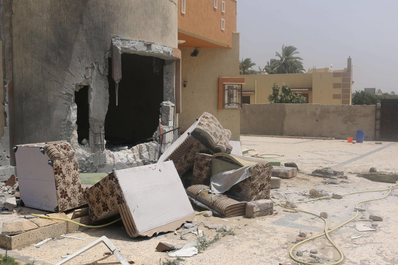 Vita nchini Libya imesababisha uharibifu mkubwa.