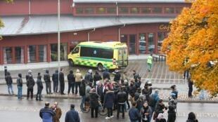 瑞典发生攻击案的学校  l2015年10月22号