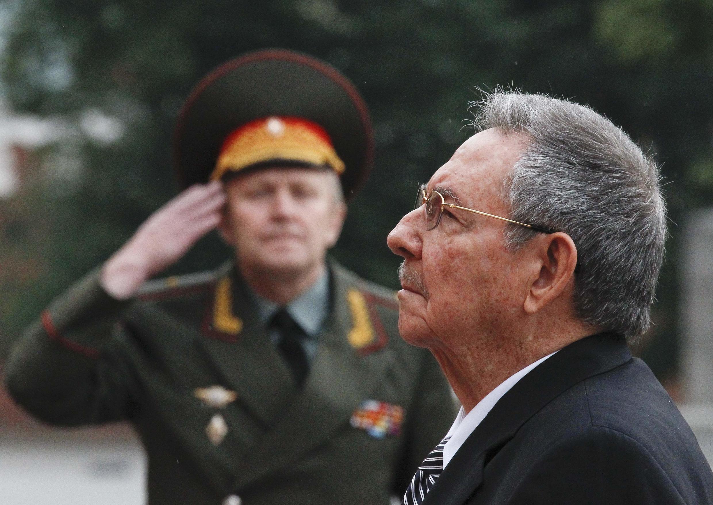 Le président cubain Raul Castro.