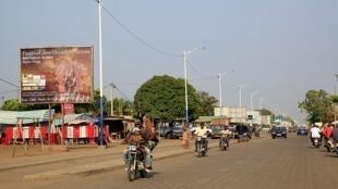 Une rue de Lomé, en janvier 2014 (image d'illustration).