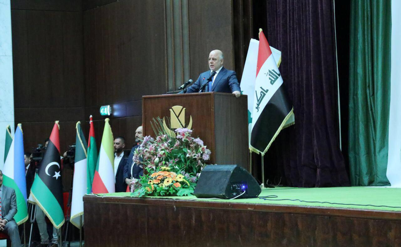 Thủ tướng Irak Al Abadi thông báo chiến thắng tổ chức Daech, Bagdad, ngày 09/12/2017.