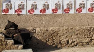 «Somos nosotros quienes elegimos» se puede leer en los carteles electorales.