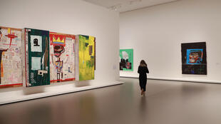 L'œuvre de Jean-Michel Basquiat est exposée à la Fondation Louis Vuitton à Paris depuis le 3 octobre 2018.