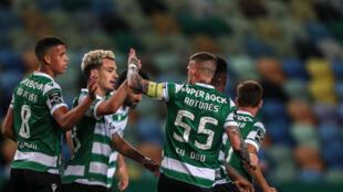 Goncalves (2L) was the leading scorer in this season's Primeira Liga