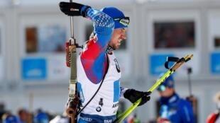 После обысков Логинов принял участие в эстафете (на фото), сумев «поднять» сборную России с 5-го места на 4-е в этой гонке. 22.02.2020