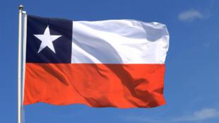 Drapeau Chili 智利国旗