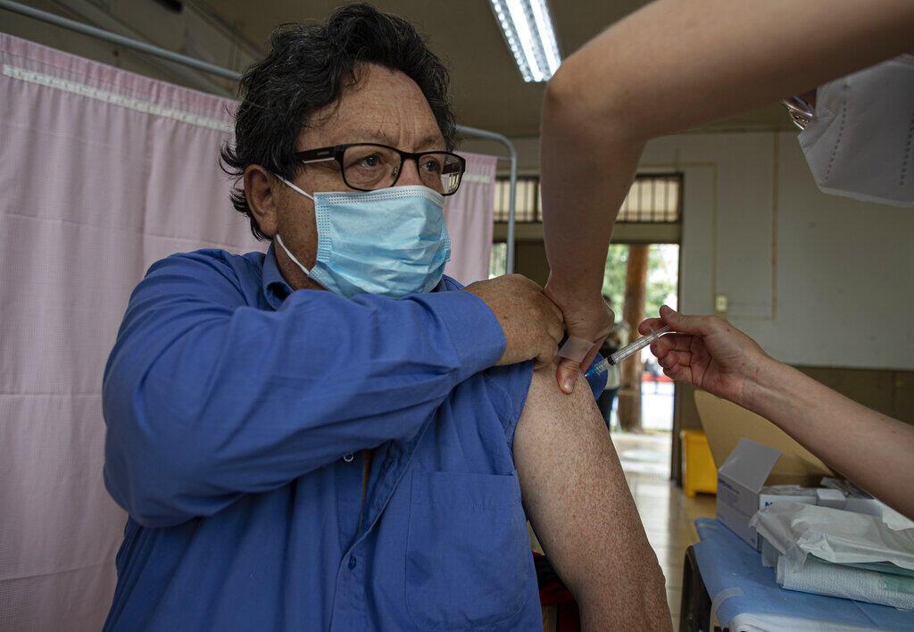Chile vacinação