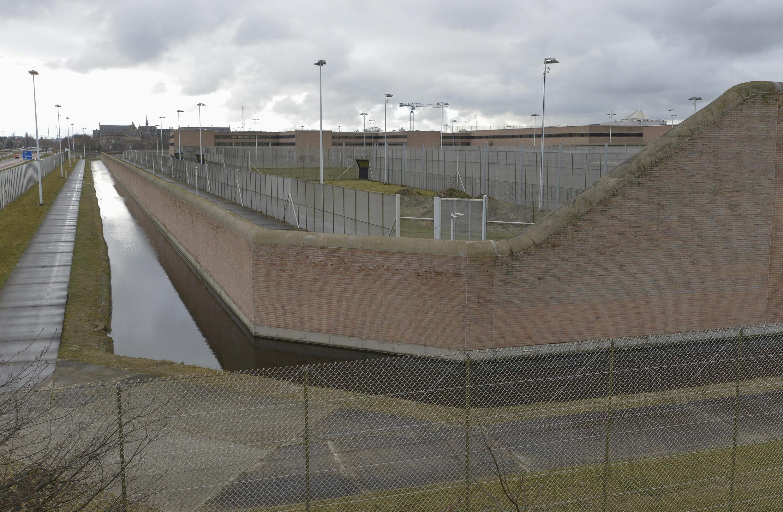 La prison de Bruges, en Belgique, qui abrite un quartier de haute sécurité, le 20 mars 2016.