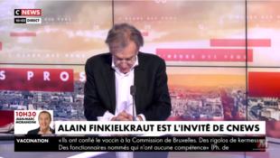 Capture d'écran Finkielkraut