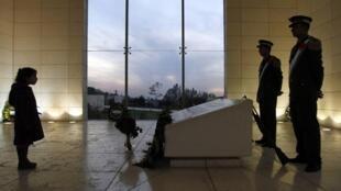 Arafat's mausoleum in Ramallah
