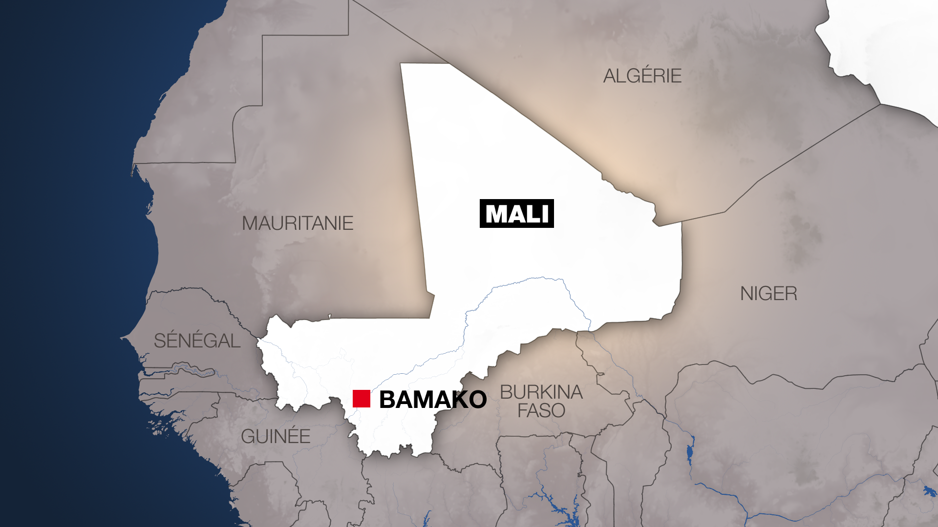 Taswirar kasar Mali