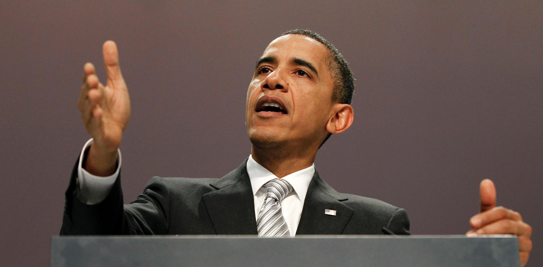 O presidente norte-americano, Barack Obama, reúne hoje republicanos e democratas.