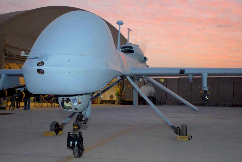 Máy bay không người lái MQ-1C Gray Eagle của Mỹ.