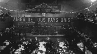 Le congrès de Tours en 1920