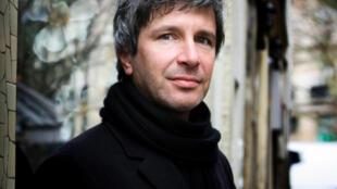 Portrait de l'écrivain Eric Vuillard, lauréat du Prix Goncourt, à l'occasion de la sortie de son livre «L'ordre du jour».