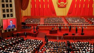 Início essa semana do Congresso do Povo em Pequim que deve renovar o mandato de Xi Jinping.