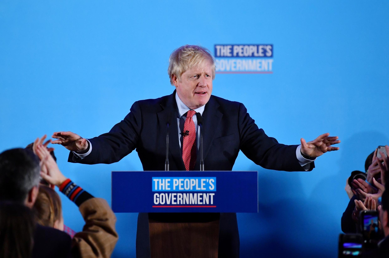 Firaministan Birtaniya Boris Johnson bayan nasararsa ta lashe zaben kasar na ranar Alhamis.
