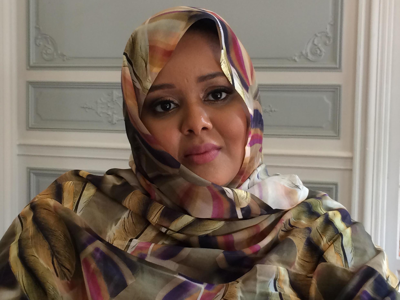 Leïla Bouamatou, directrice de la Générale de banque de Mauritanie.