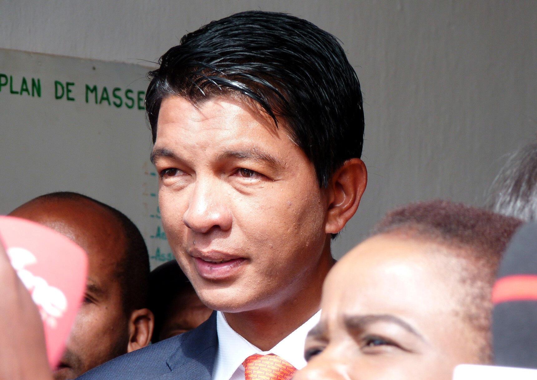 Le président malgache Andry Rajoelina.